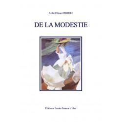 De la modestie